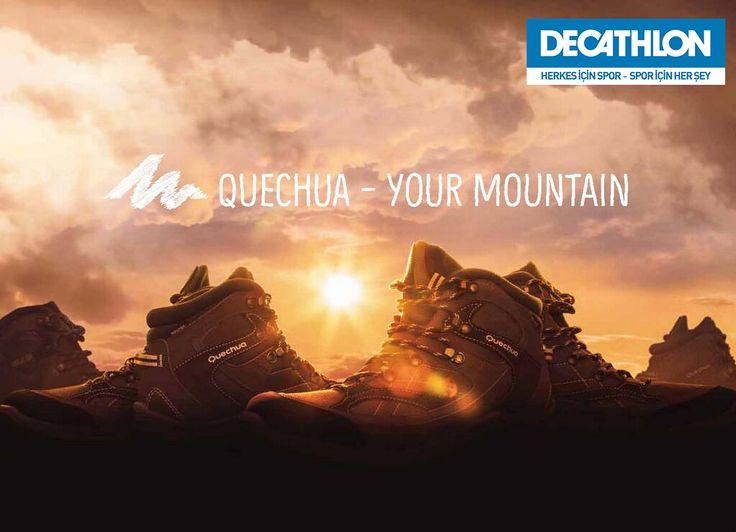 #Quechua ile dağlar sizin olsun! #Dağcılık #Trekking
