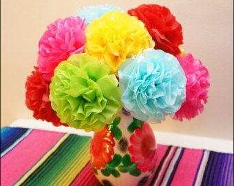 how to make tissue paper flowers for fiesta Diy cinco de mayo party ideas for adults  fun backdrop for a birthday fiesta tissue paper flowers  learn how to make giant tissue paper flowers that are.