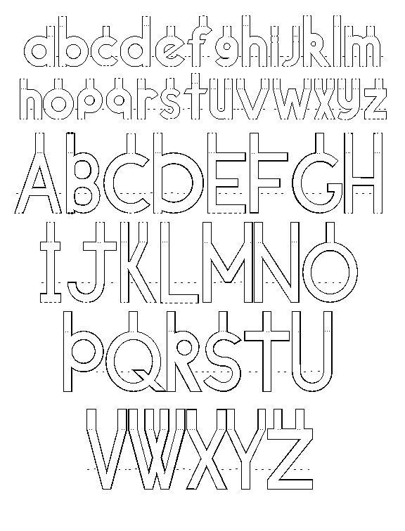 pop up letters