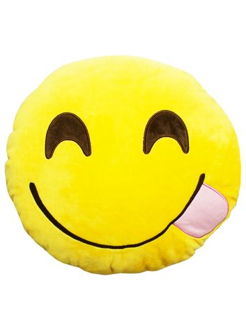 SAVOURING EMOJI PILLOW