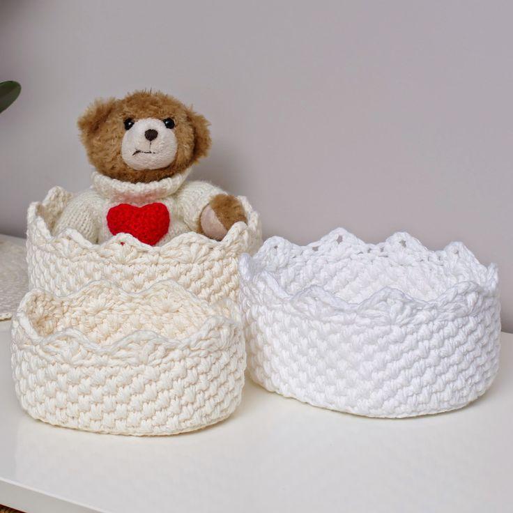 Magnífico Crochet Patrón De Canasta De Spa Ideas - Manta de Tejer ...