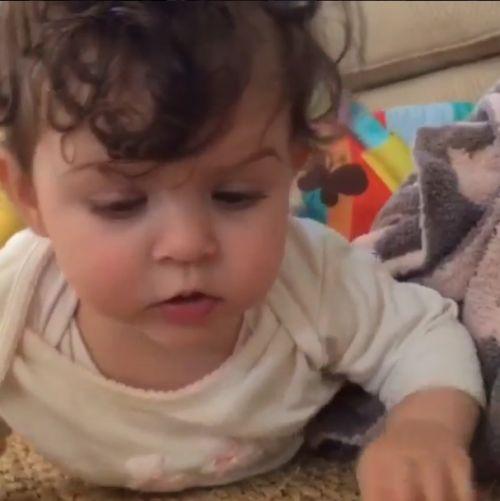 Alyssa Milano: Dancing Baby Elizabella
