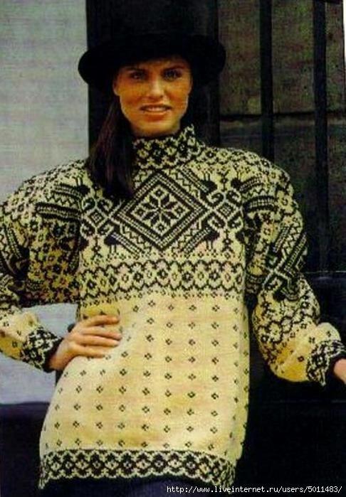 Как хорошо уметь вязать: Вот это свитер!