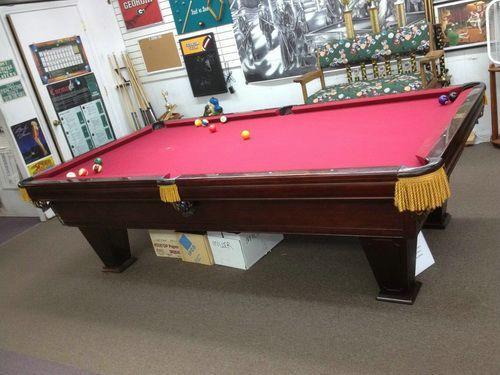 Used Brunswick Pool Tables