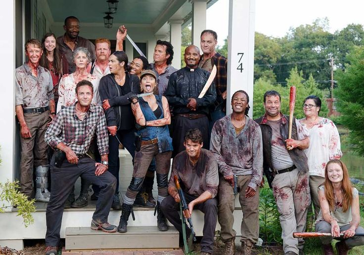 The Walking Dead Season 6 Behind-the-Scenes Photos