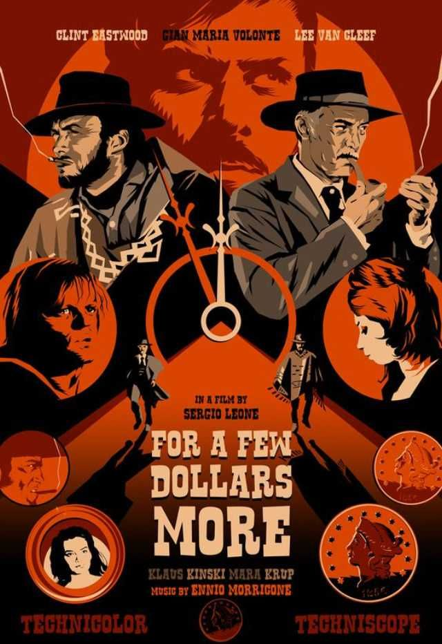 The Dollars Trilogy Western Posters Dollars Trilogy Retro Film