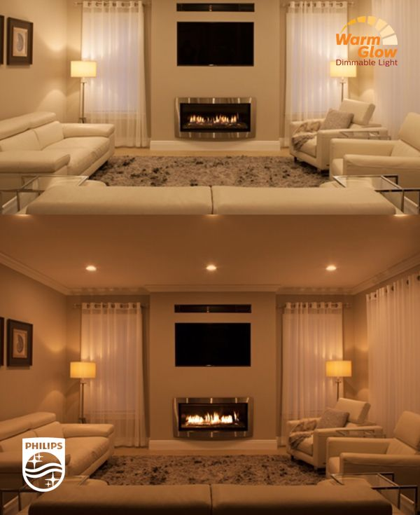 led lighting for living room. led bulbs with warm glow dimming create a deep cozy effect see the difference right lighting can make led for living room
