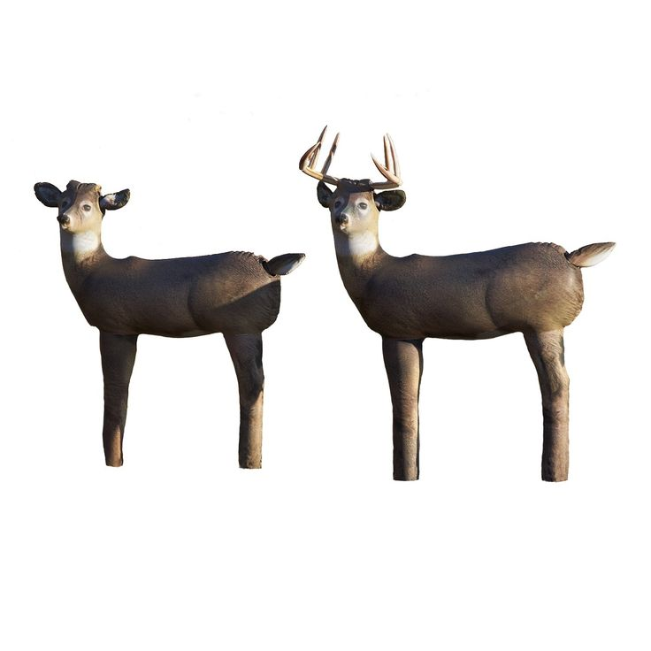 Cherokee Sports HairLite Convertible Deer Decoy
