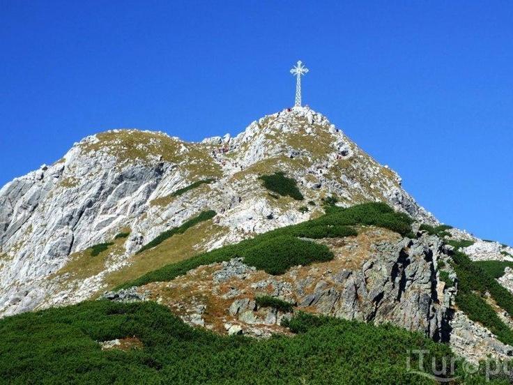 Giewont mountain, Poland