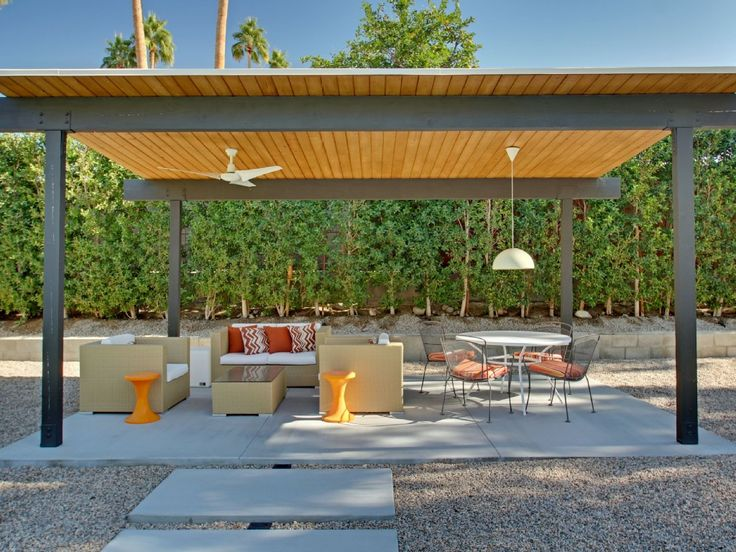 81 best free standing patio coverings images on pinterest for Free standing patio cover designs