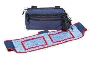 Healthsmart Walker Pouch/Banner Kit, Blue by HealthSmart. $23.93. Pouch has two zippered storage compartments, three pockets and one mesh cup holder; Banner attaches to walker or rollator with hook and loop closure; Both items can be used together on same walker or rollator.; Both items fit most walkers, wheelchairs, transport chairs and rollators. Includes 1 banner and 1 walker pouch to provide consumer with stylish options for their walker or rollator.