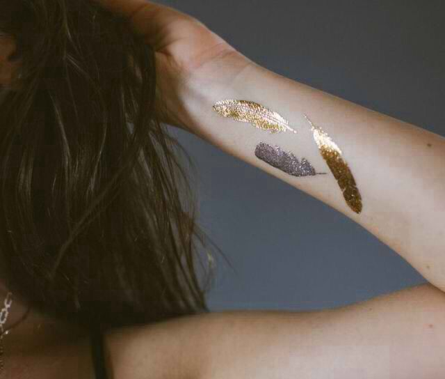 94 best images about tattoo ideas on pinterest sailor for Permanent metallic ink tattoos