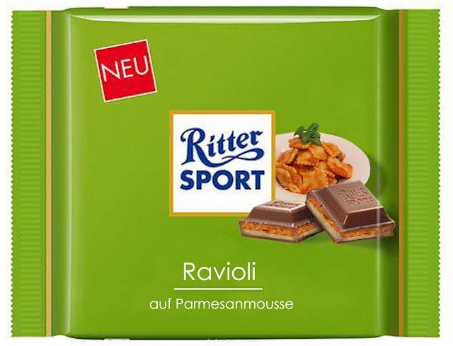 RITTER SPORT Fake Schokolade Ravioli