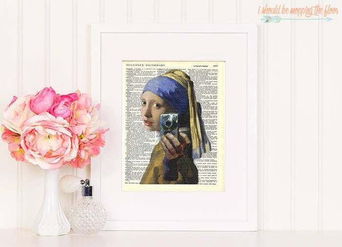 Girl with camera by secondprints on Etsy