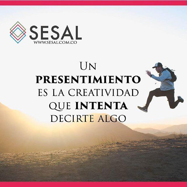 Un presentimiento es la creatividad que intenta decirte algo Frank Capra #sesal #marketing #venezuela #colombia #españa #venezolanosencolombia #marketing #marketingdigital #creamostuempresa #emprende #ssl#salud #empresas #sisepuede