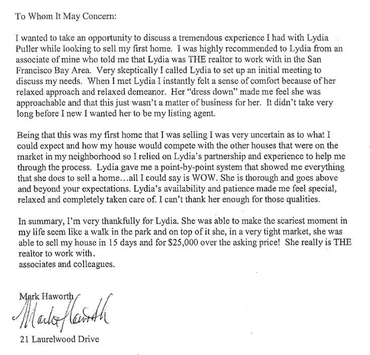 Lydia Puller client testimonial Testimonials Pinterest