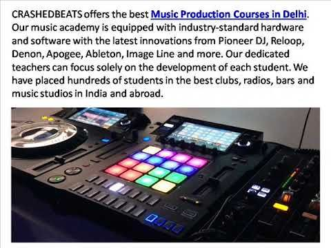 Best Music Production Courses in Delhi at CrashedBeats. If you want to learn music fundamentals and its all courses then come and learn from professionals and music experts. We design various music courses according to our students like music producer, sound engineering, advance mixing course, harmony, EMP etc. If you want to get in touch with us visit here :- http://crashedbeats.com/