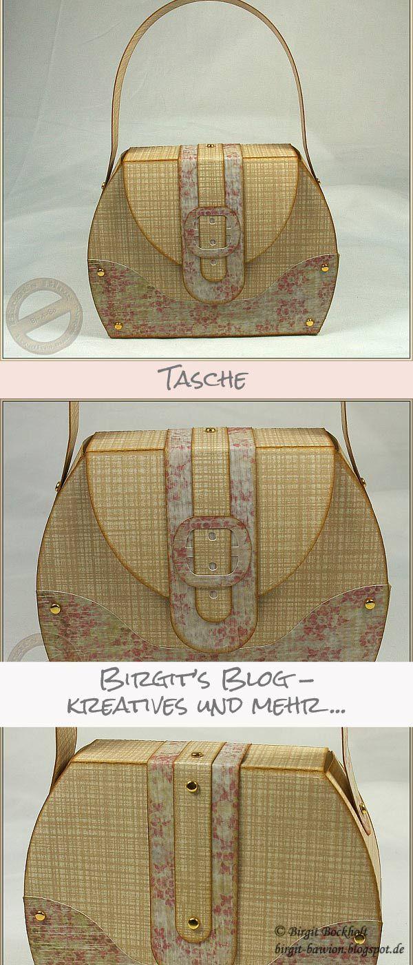 Tasche - Mit Link zur Anleitung und Link zum Silhouette Shop