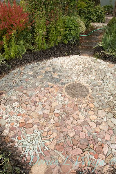 Clare Matthews Garden Blog Free Chive Edging Is Looking: 923 Best Images About Pebble Mosaics On Pinterest