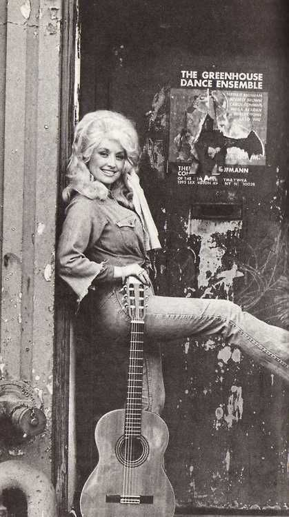 Dolly Parton in the 70's. #photography #country #blackandwhite