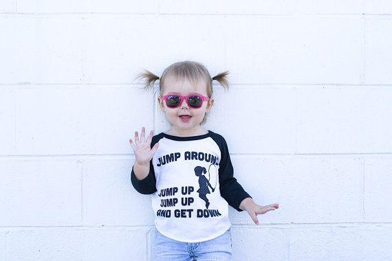 90s hip hop/rap kids shirt. Jump Around by SatMorningPancakes