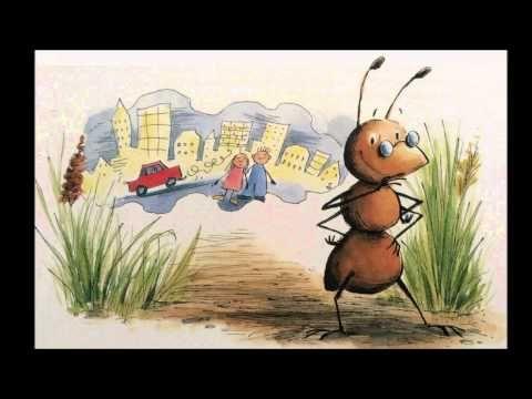Basisverhaal; Fred de mier droomt van de stad - YouTube