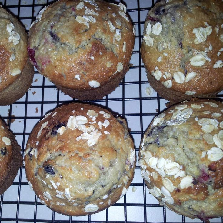 Recipe Coconut, Berry& Oat Muffins by Kath H - Recipe of category Baking - sweet