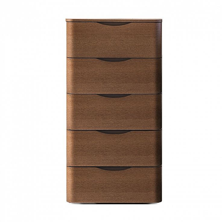 Modern luxury tall chest of drawers 'Moby' by Morassutti