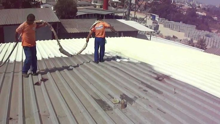 Impresol - Spray de Poliuretano - Impermeabilização de telhado - isolame...