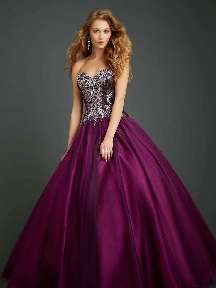 130 best vestido de 15 images on Pinterest | Night out dresses, Long ...