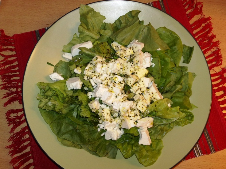 Salad with feta