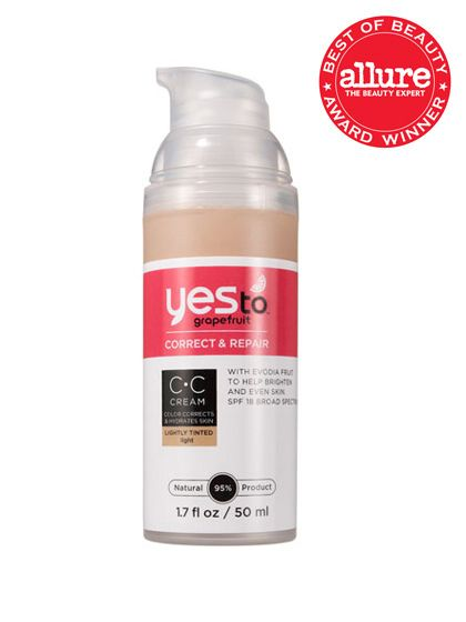 Even the crocodile-tote-carrying editors in our office die over Yes to Grapefruit Correct & Repair CC Cream, a light, creamy cover-up