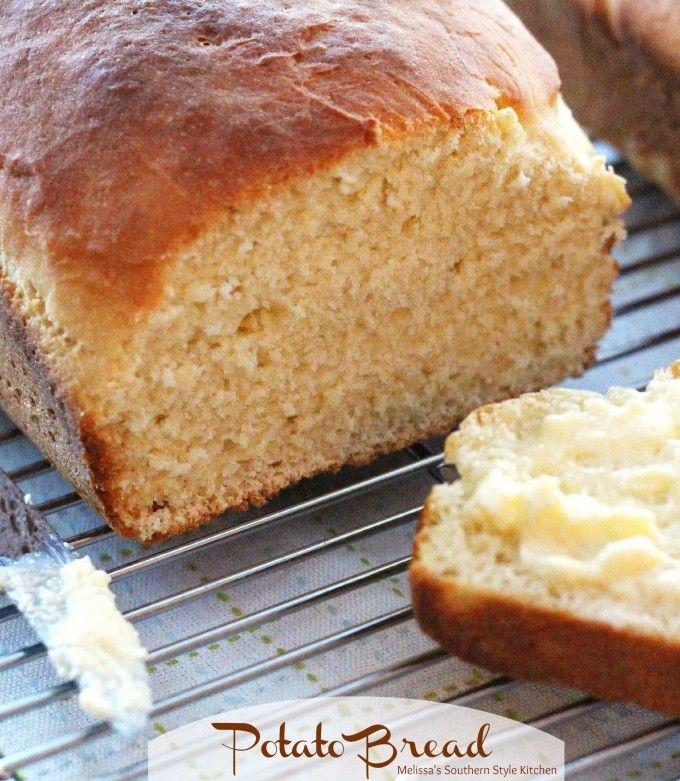 Easy homemade potato bread recipe