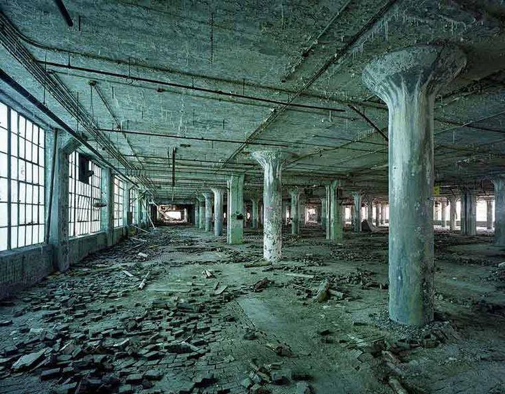 Usine Ruine Detroit