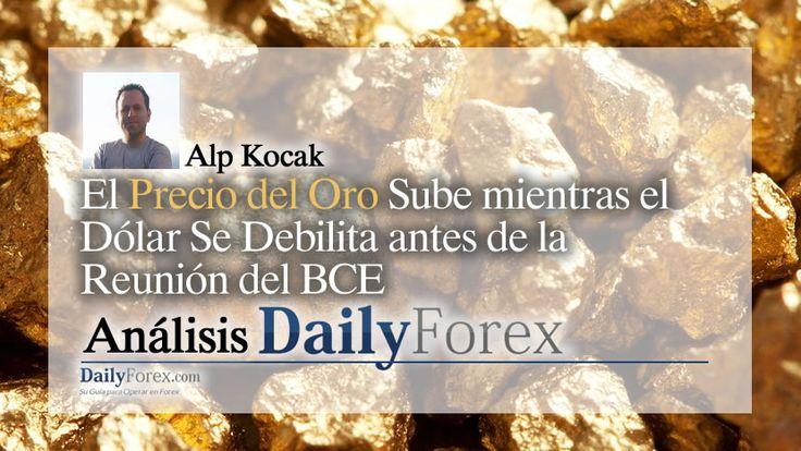 El Precio del Oro Sube mientras el Dólar Se Debilita antes de la Reunión del BCE https://espaciobit.com.ve/main/2017/10/26/precio-del-oro-sube-mientras-el-dolar-se-debilita-antes-de-la-reunion-del-bce/ #Forex #DailyForex #Oro