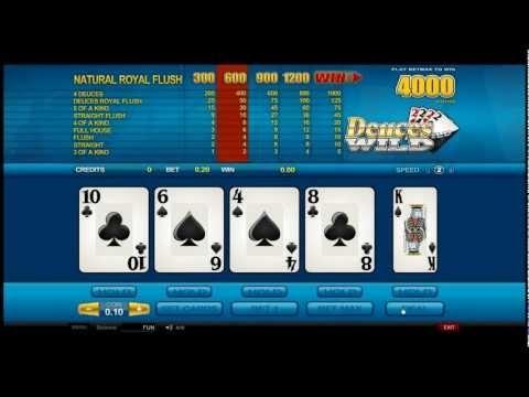 Deuces Wild - Video Poker from Castle Casino http://www.castlecasino.com/video-poker/deuces-wild
