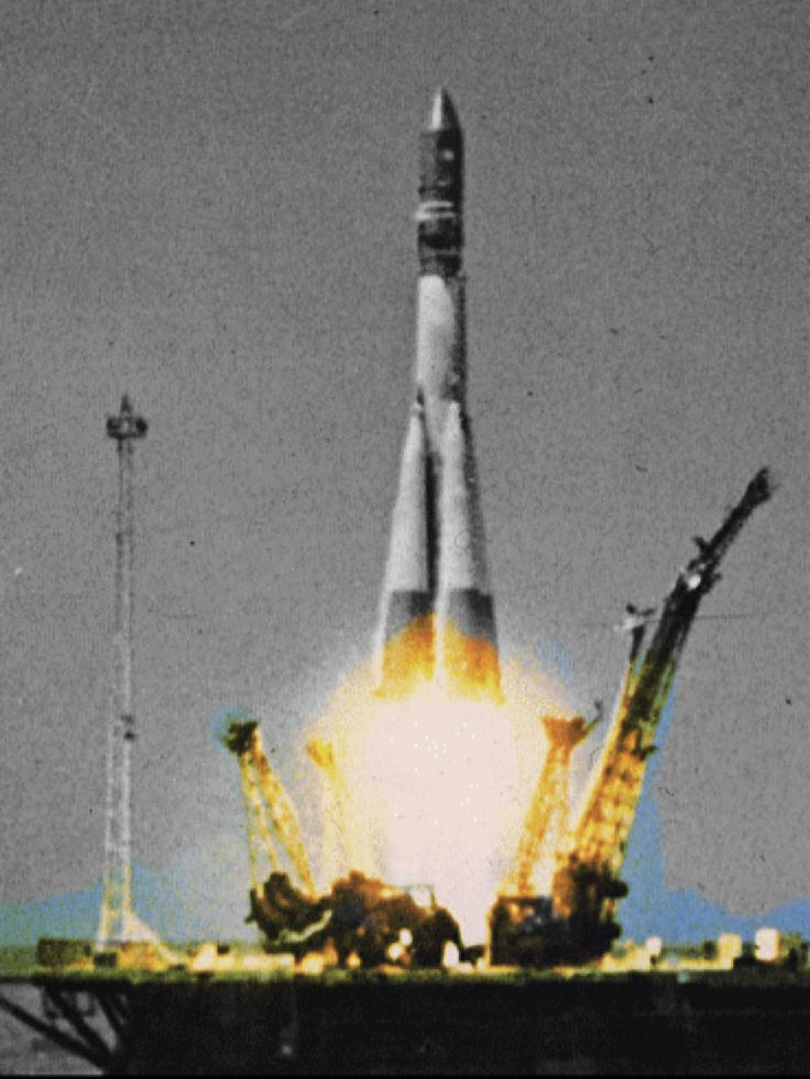 Launch of Vostok