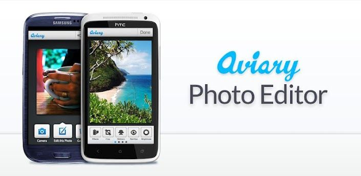 Photo Editor by Aviary - One of the smartest editing apps out there, hooks into your sharing menu