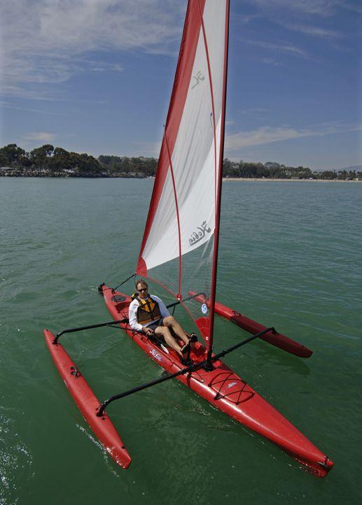 Hobie Mirage Adventure Island sail kayak #kayak #kayaking #kayaker