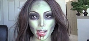 How to Create a Simple Sexy Zombie Makeup Look for Halloween « Makeup