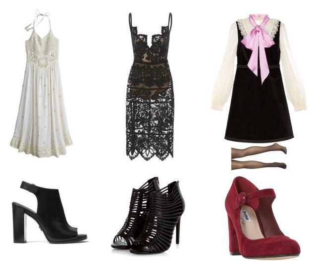 """""""26"""" by drile on Polyvore featuring Calypso St. Barth, Michael Kors, Gucci, Avenue and Dune"""