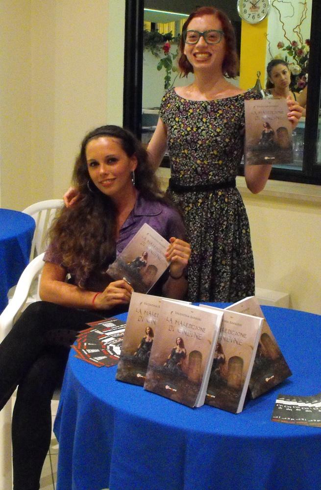 """Presentazione libro """"La Maledizione di Ondine"""" - Valentina Barbieri #paranormal #fantasy #Riccione #book #festival"""