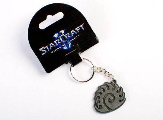Starcraft 3 Zerg Keychain