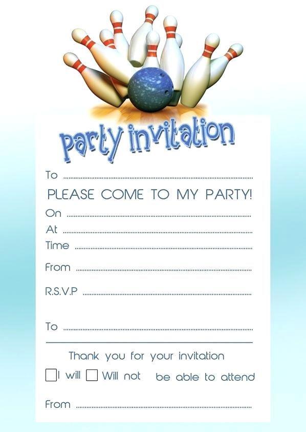 Bowling Party Invitations Template Free Unique Printable Graduation Invitation Templates Online Houstonfashion Largebaby