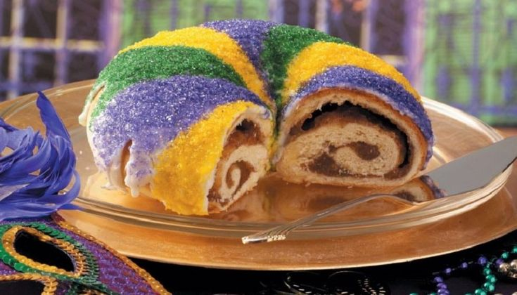 King Cake de Carnaval - Recetín
