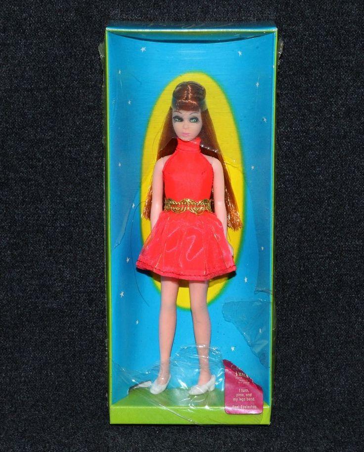 Dawn Doll 1970 Topper Glori 1st Year Orange Mini Bang Center Part MIB    eBay