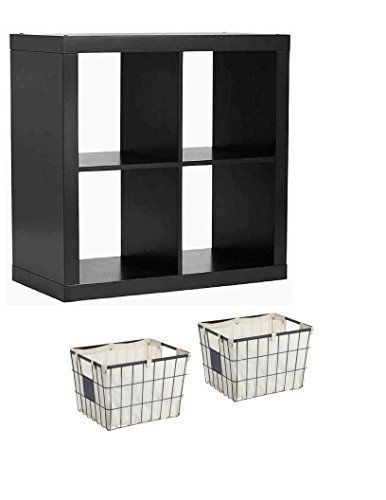 Better Homes And Gardens Bookshelf Square Storage Cabinet 4 Cube Organizer