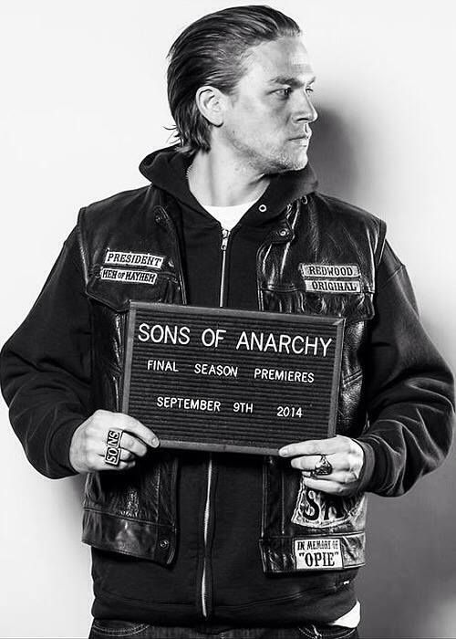 Jax Teller, Charlie Hunnam, mugshot, Sons of Anarchy ...