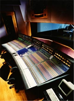 Probably the finest recording console ever made, and there were only two made - the Focusrite Forte designed by Rupert Neve.