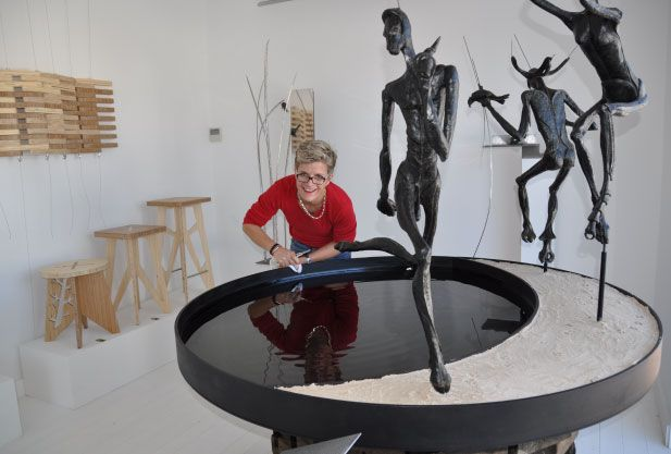 To elevate and align our furniture with the realm of sculpture.